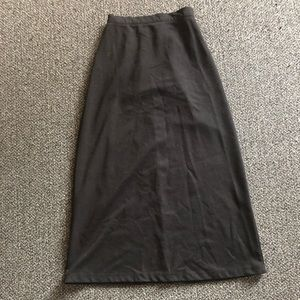 Liz Baker black skirt